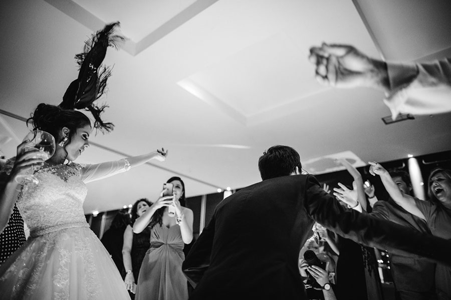 wedding photography dance floor madness