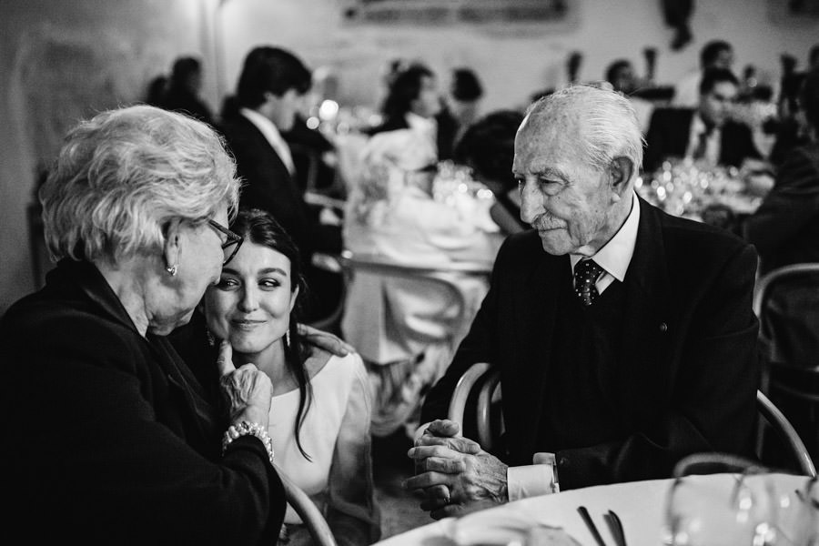 wedding photography Amares bride and grand parents